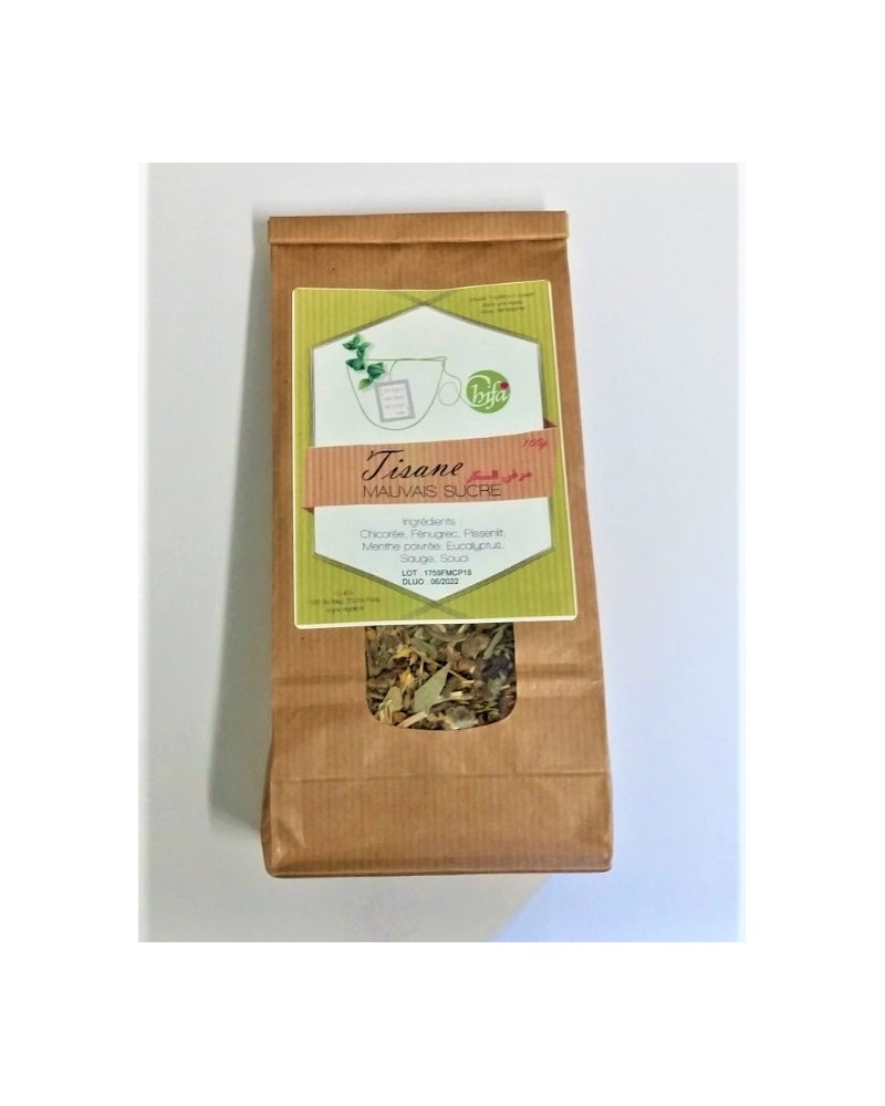Tisane Mauvais Sucre - 100% Naturelle - 100g - Chifa