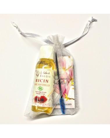 Huile de Ricin Bio + Mascara - Vierge & Pure - 50 ml - Les huiles de BALQIS