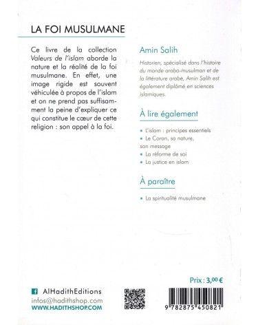La Foi Musulmane - Valeurs de l'Islam - Amin Salih - Al-Hadîth