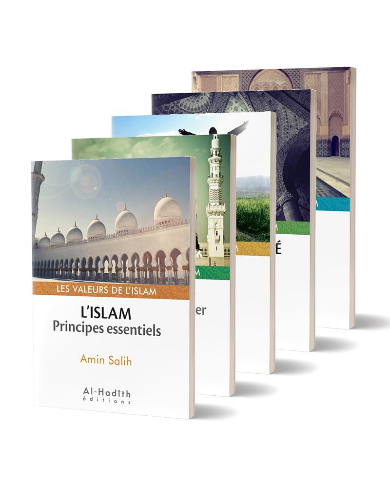 Pack Les Valeurs de l'Islam (7 livres) : Islam, Justice, Foi, Coran, Muhammad, Spiritualité & Réforme - Al-Hadîth