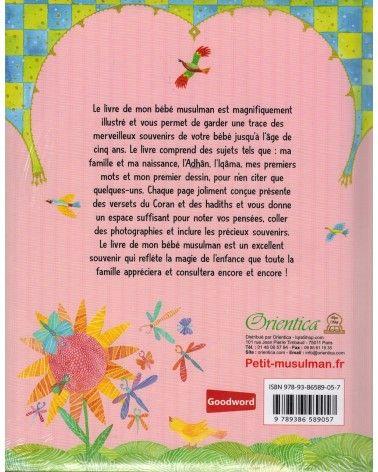 Le livre de mon bébé musulman (Rose pour filles) - Orientica