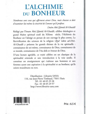 L'Alchimie du Bonheur - Abû Hamid Al-Ghazâlî - Sana