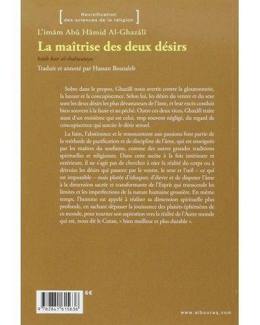 La maîtrise des deux désirs - Abû Hâmid Al-Ghazâlî