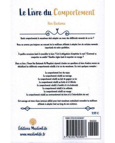 Le Livre du Comportement - Ibn Qudama Al-Maqdissî - MuslimLife