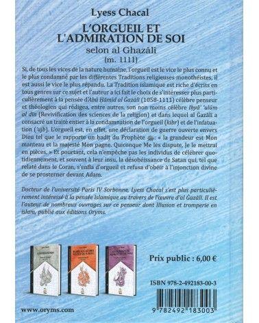 L'Orgueil et l'Admiration de Soi - Tome 1 (Nouvelle Édition) - Spiritualité Musulmane - Lyess Chacal